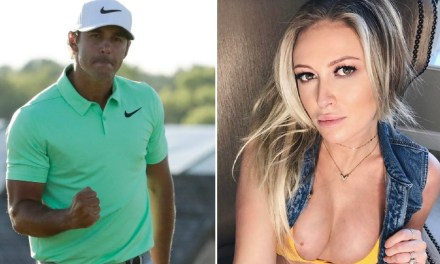 Brooks Koepka Has Been Liking All Paulina Gretzky's Racy Pics