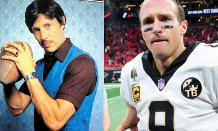 Drew Brees is the Real Life Uncle Rico?
