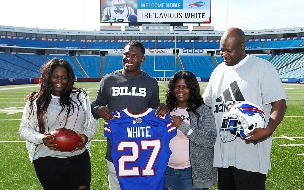 Bills Corner Tre'Davious White's Mother Arrested after Allegedly Stabbing a Man in the Chest