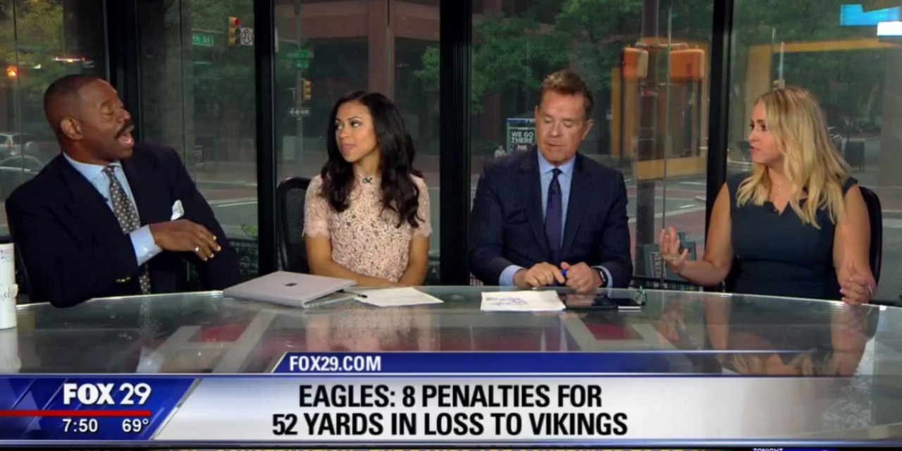Philly Newscaster Says the Eagles Need to be Cutoff from Sex to Cure Super Bowl Hangover