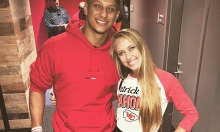 Patrick Mahomes Girlfriend Brittany Matthews Watched Him Get Another W