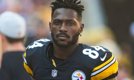 Antonio Brown Accused Of Nearly Hitting Toddler With Furniture Thrown From Balcony