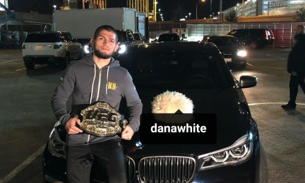 ​Khabib Tells Dana White if He Didn't Receive His Belt He Would Have Smashed His Car