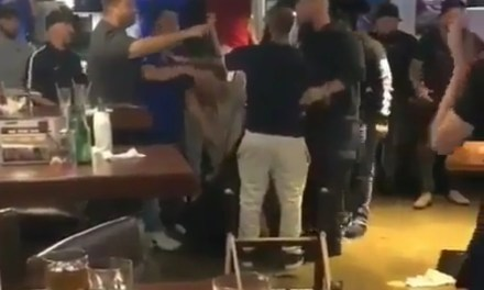 Red Sox and Yankees Fans Involved in a Bloody Bar Brawl