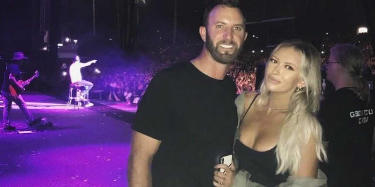 Dustin Johnson and Paulina Gretzky Went to Last Night's Kid Rock Concert