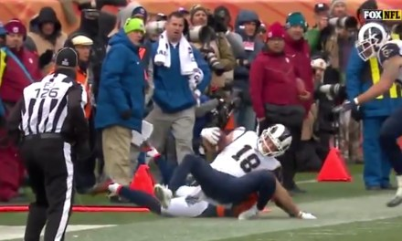 Cooper Kupp was Carted Off After Being Taken Down with a Horse Collar Tackle