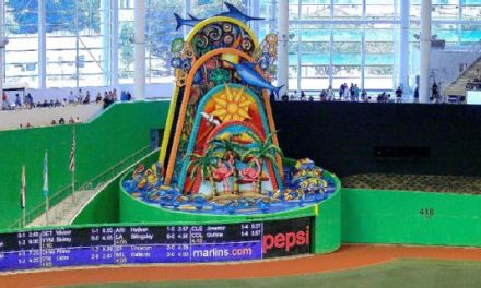Miami Marlins Moving Their Infamous Home Run Sculpture Outside the Stadium