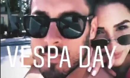 Olivia Culpo Giving Danny Amendola The Business