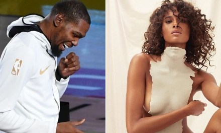 Kevin Durant Appears to Be Single as He's Now Liking Cindy Bruna's Pics