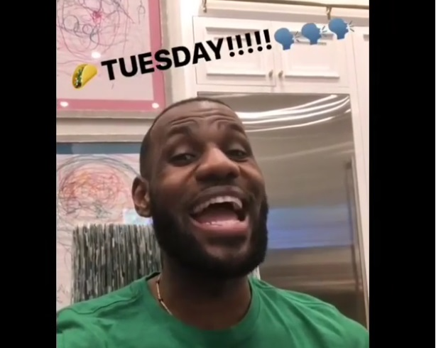 LeBron Had a Great Week, Especially on Tuesday