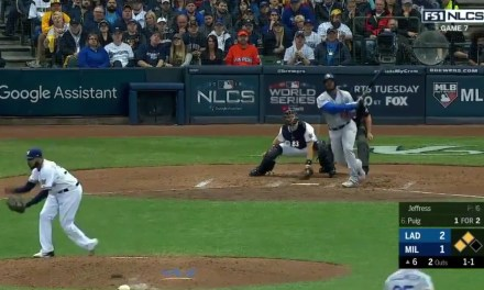 Yasiel Puig Delivered Death Blow With a Three Run Home Run in Game 7 of the NLCS