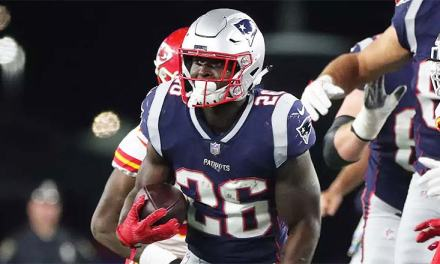Patriots RB Sony Michel Carted Off the Field with a Gruesome Leg Injury