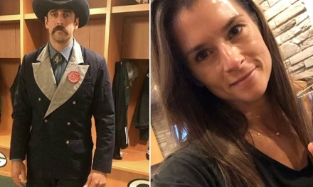 Aaron Rodgers and Danica Patrick Spent Packers Bye Week in Jackson Hole