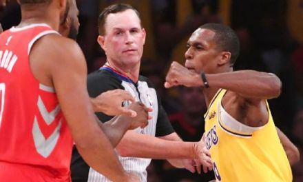 Rajon Rondo Denies Spitting and Says Chris Paul is no 'Good Guy'