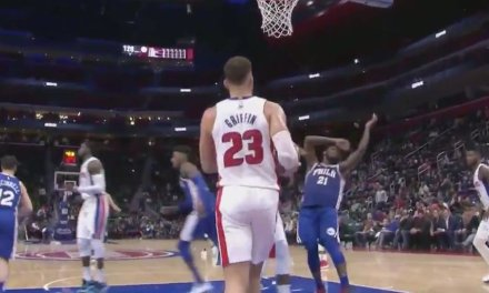 Andre Drummond Responds to Joel Embiid's Flop that Got Him Ejected