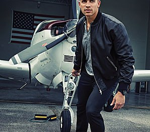Jimmy Graham Performs Aerobatics in the Red Bull Helicopter