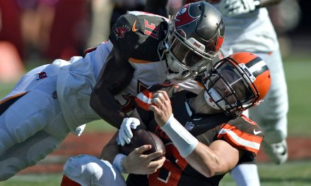 Bucs Defensive Back Fined for Unflagged Helmet-to-Helmet Hit on Baker Mayfield
