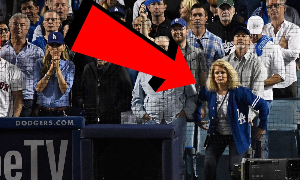 Mary Hart Trolled Craig Kimbrel's Pitching Routine