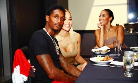 Lou Williams Gets a Special Birthday Shoutout from His Girlfriend Rece Mitchell