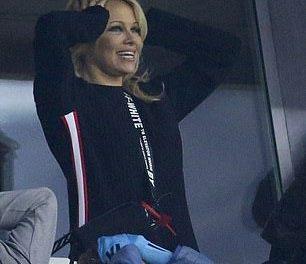 Pamela Anderson Cheers on Soccer boyfriend Adil RamiAfter Split Rumors