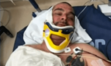 Red Sox Fan Recovering from Stabbing After the World Series by Dodgers Fans