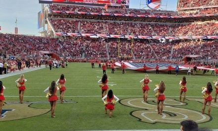 49ers Cheerleader Took a Knee During the National Anthem