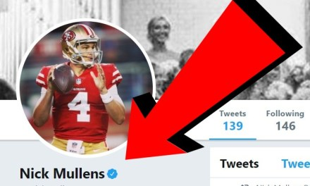 Nick Mullen Got his Twitter Verified After the 49ers Win over the Raiders