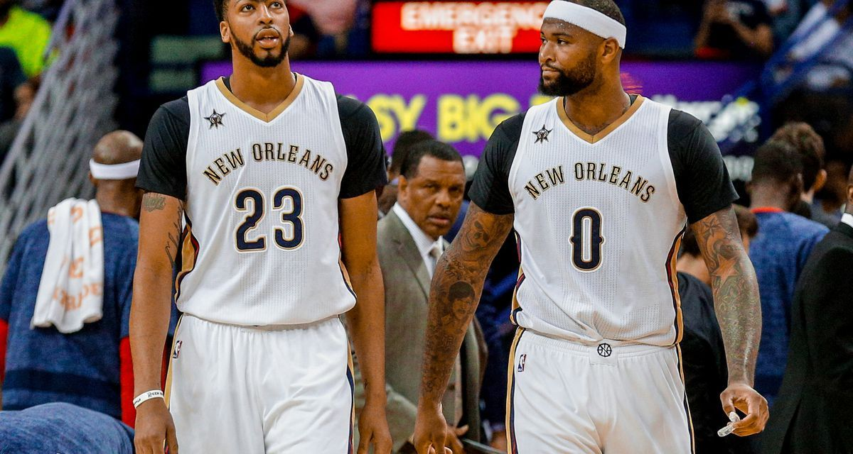 Anthony Davis Hopeful Boogie Cousins Can Return to Pelicans