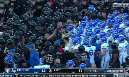 Air Force and Army Game Ends with an On Altercation