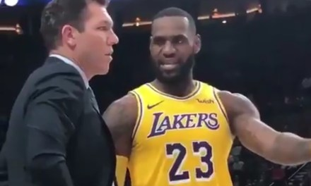 LeBron James Coached Luke Walton During Win Over Portland