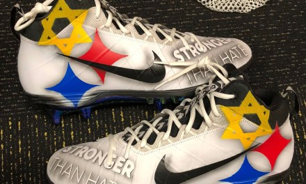 Ben Roethlisberger Wearing Custom Cleats on Sunday to Pay Tribute to Synagogue Victims