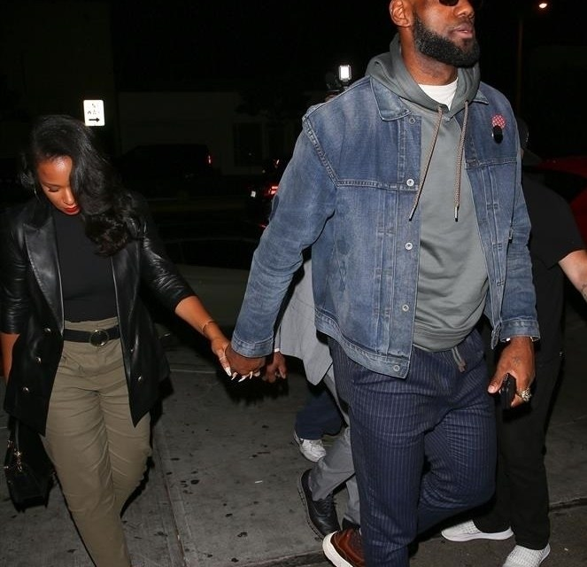 LeBron and Savannah James Showing For Diddy's 49th Birthday Bash