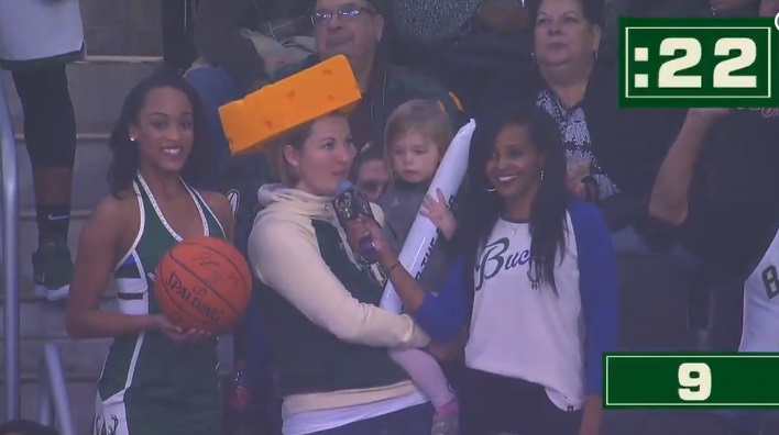 Bucks Fan Names 27 Different Types of Cheese in 30 Seconds