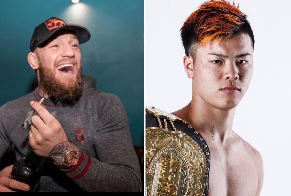 Tenshin Nasukawa Responds to Conor McGregor on Floyd Mayweather's Fight