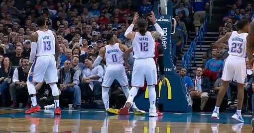 Russell Westbrook Left the Pelicans and Thunder Game after Rolling His Ankle
