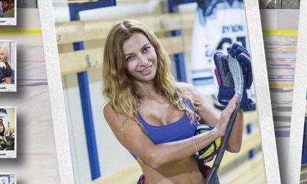 Mothers of a U14 Ukrainian Hockey Team are Getting Some Attention for a Sexy Photo Shoot they Did