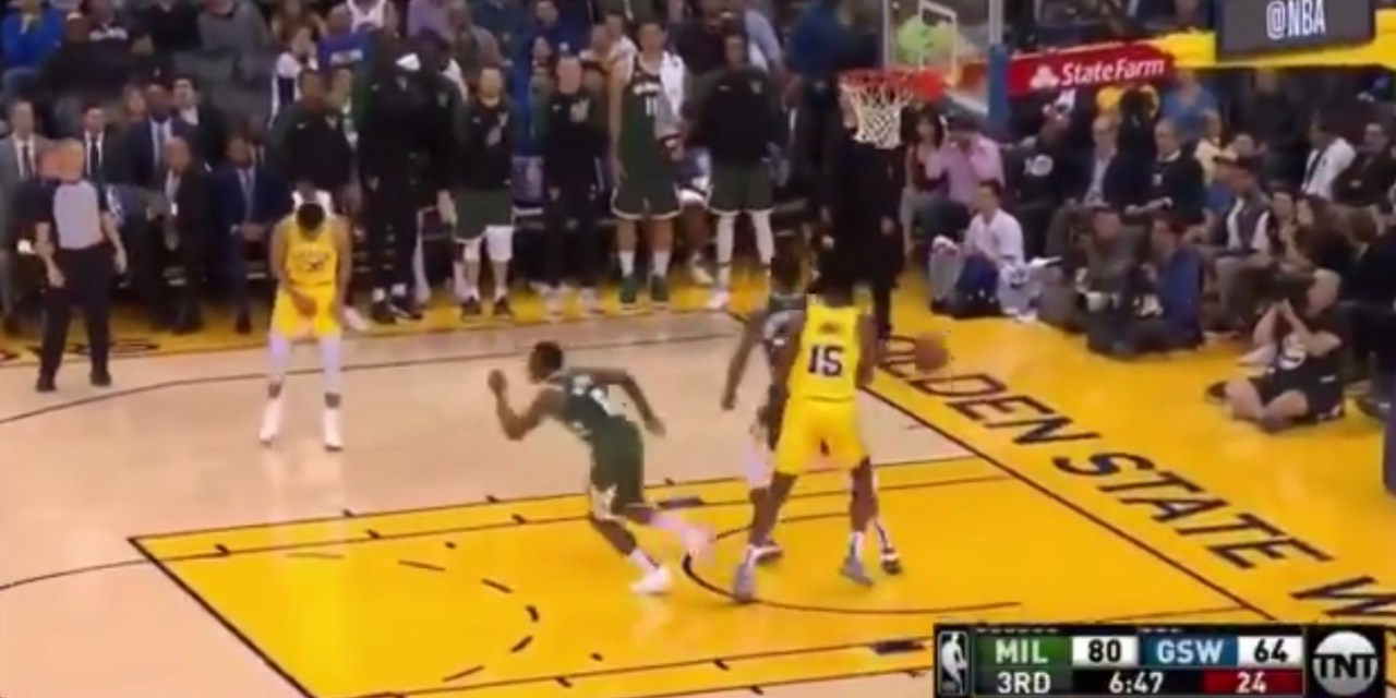 Steph Curry Left Loss to the Bucks with a Left Adductor Strain