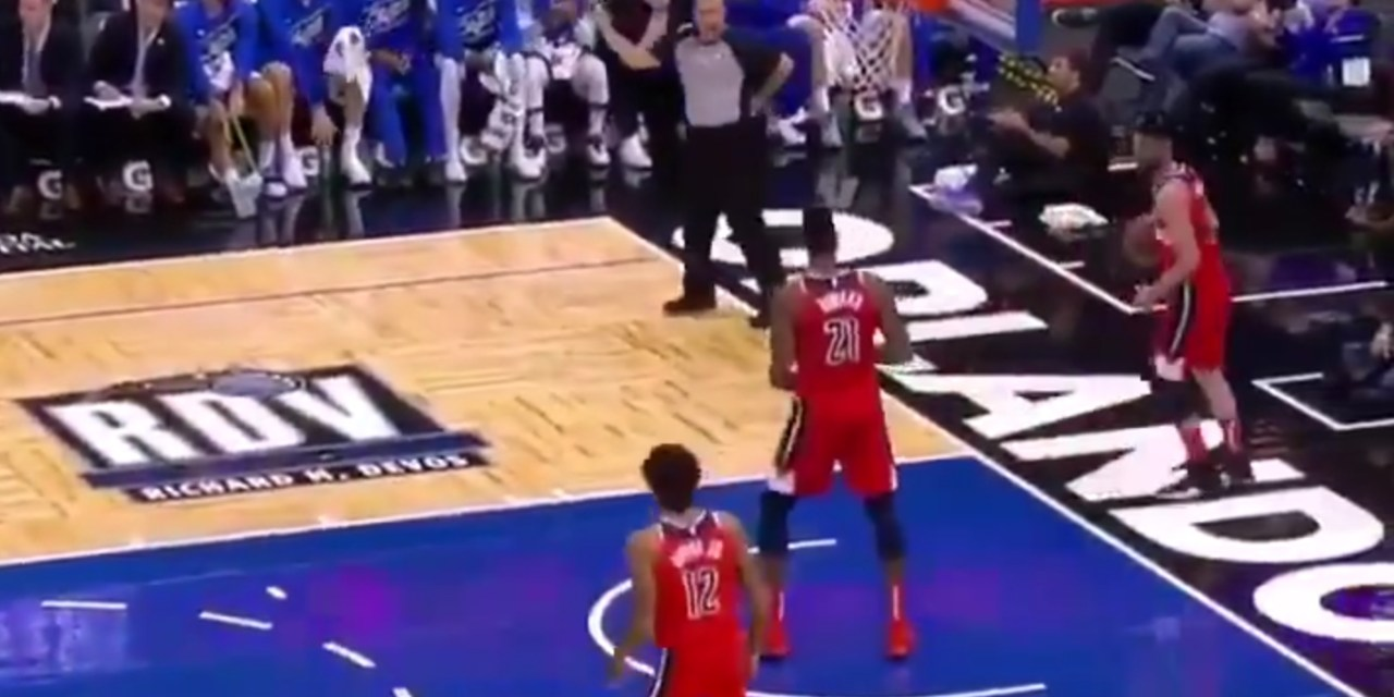 The Wizards are So Bad at Basketball They Don't Even Know How to Inbound the Ball