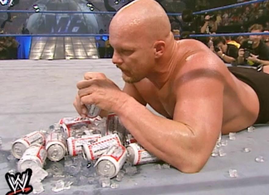 Stone Cold Steve Austin Has Quit Beer