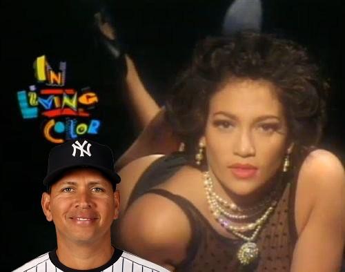 A-Rod Reminded of Jennifer Lopez the Fly Girl