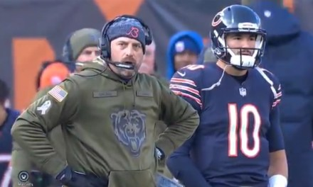 Bears Kicker Cody Parkey Hit the Upright Four Times on Sunday