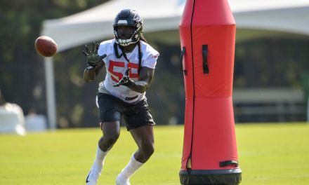 Falcons Linebacker Says Atlanta Lost Because They Didn't Take the Browns Serious