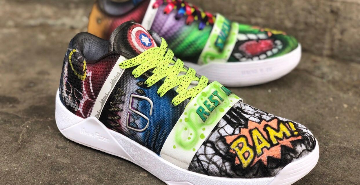 Nets Guard Spencer Dinwiddie to Honor the Late Stan Lee with Custom Sneakers