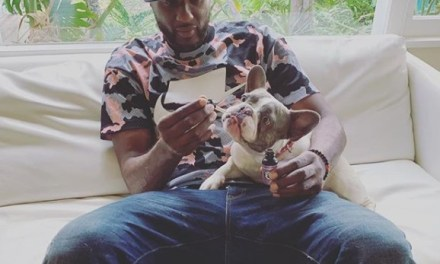 Lamar Odom Feeding His Dog Hemp Oil is Adorable