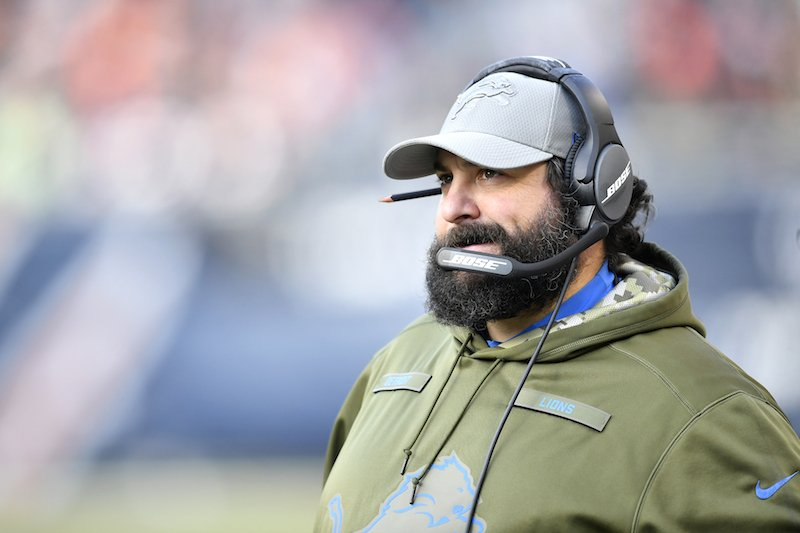 Matt Patricia Defends Decision to Practice in Snow Before an Indoor Game