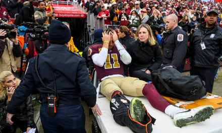 Alex Smith's Broken Leg is Not Considered to be Career Threatening