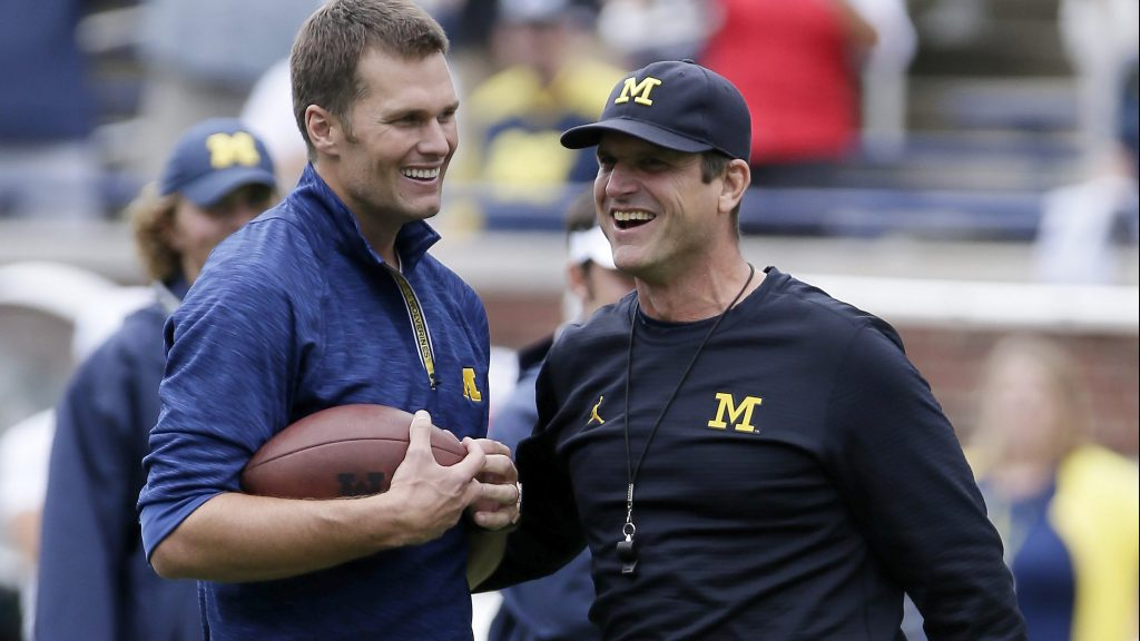 Tom Brady Makes a Prediction About the Michigan and Ohio State Game