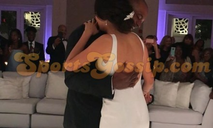 Michael Jordan and Wife Yvette Attend Dwight Freeney's Wedding to his Fiance Brittany