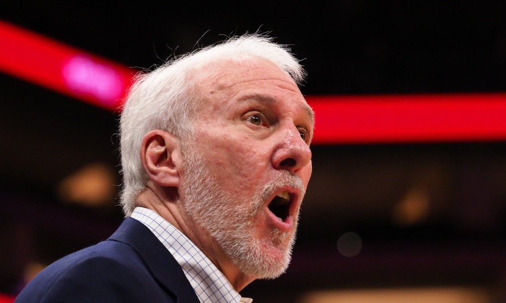 Watch Coach Popovich do his Impression of an NBA Fight