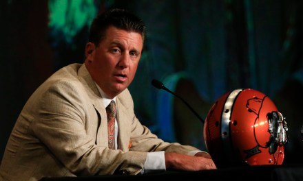 Mike Gundy Playing the Saxophone is Strangely Intoxicating